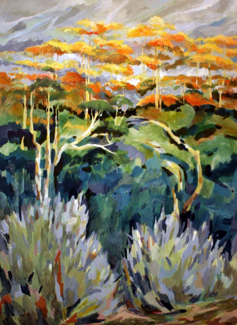 Landscape 4 - Pennie Steel | SteelReid Studio Blue Mountains