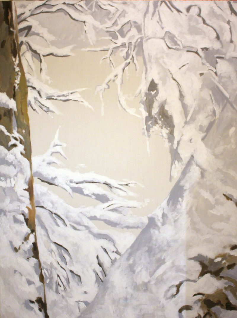 Snow 1 - Pennie Steel   SteelReid Studio Blue Mountains