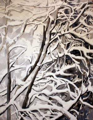 Snow 3 - Pennie Steel   SteelReid Studio Blue Mountains
